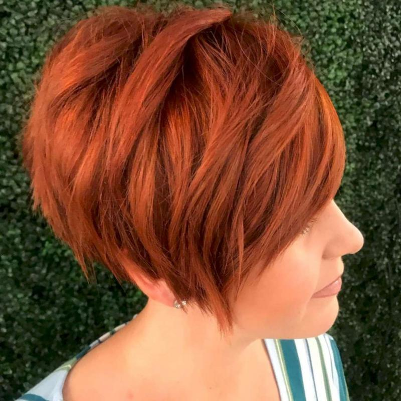 2020 Red Short Hairstyles – 3