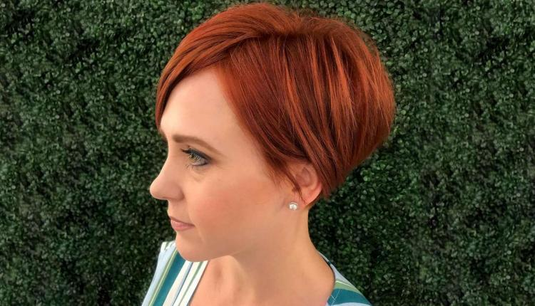 2020 Red Short Hairstyles
