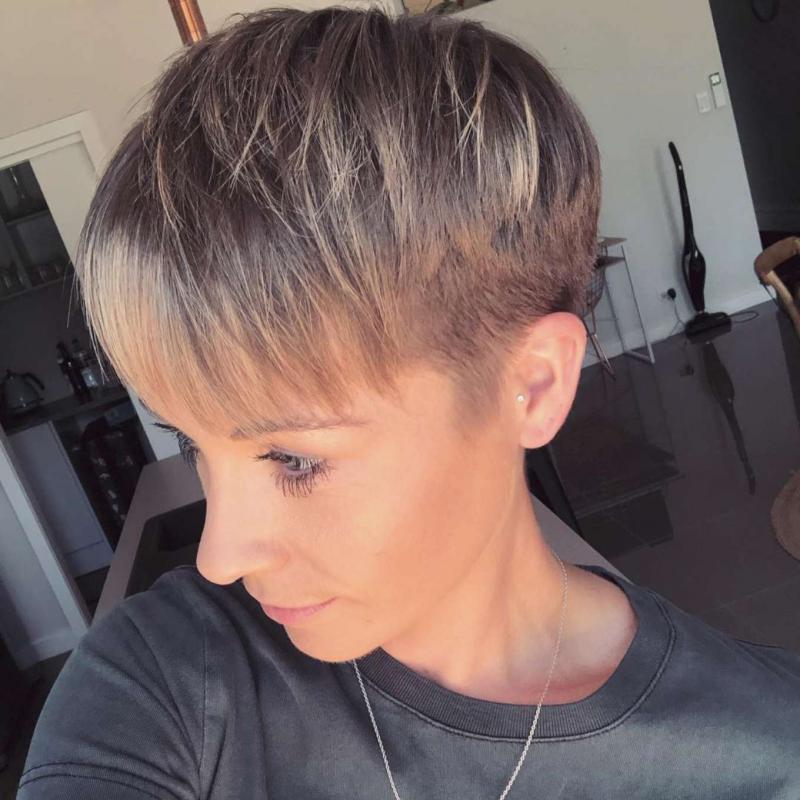 Corinne Gerrard Short Hairstyles – 3