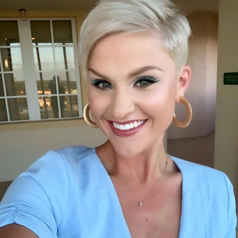 Sarah Vogelbach Short Hairstyles – 2
