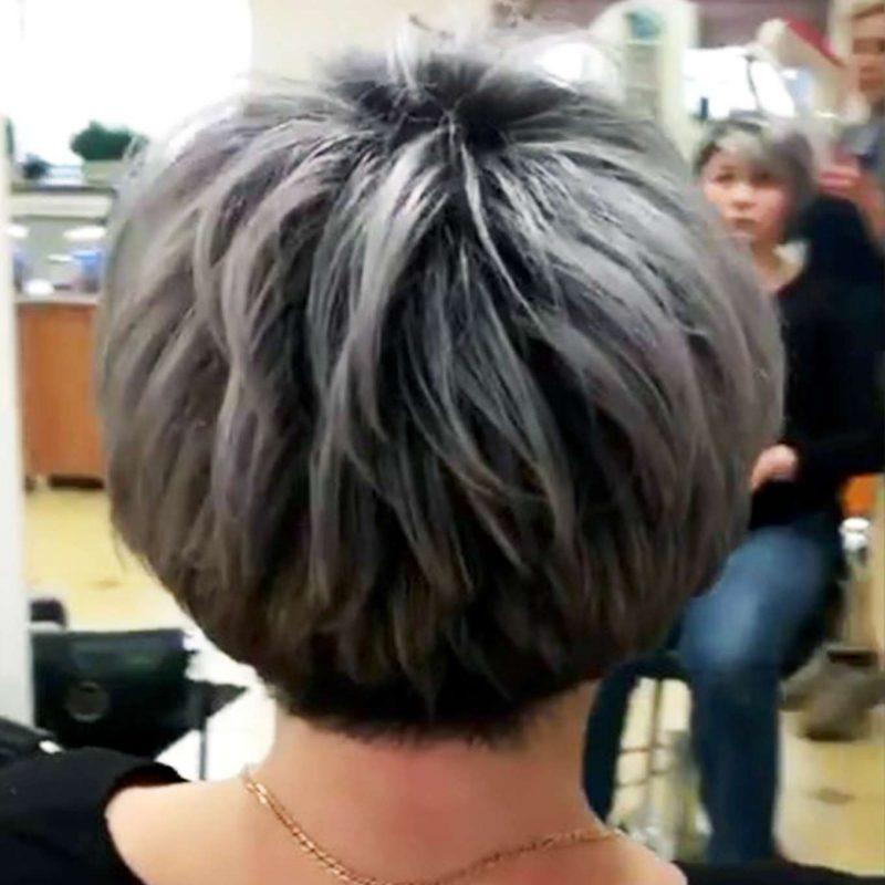 Angelina King Short Hairstyles - 4