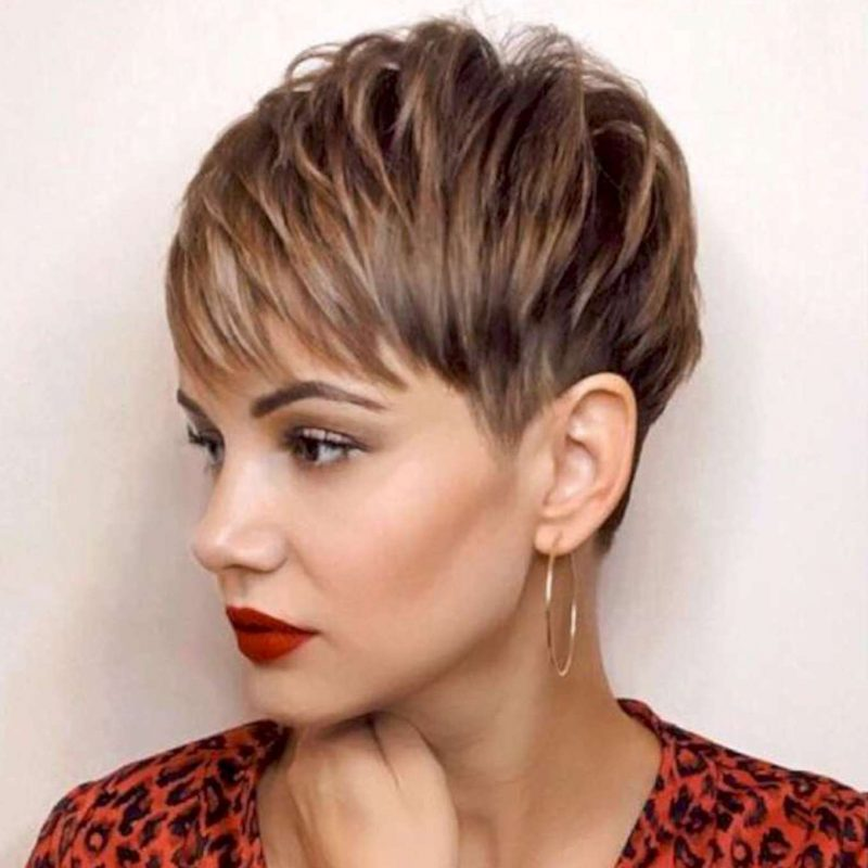 Francine Hall Short Hairstyles - 1