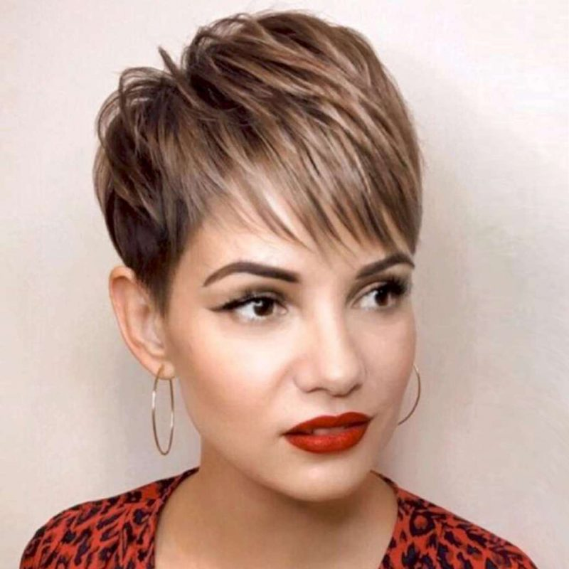 Francine Hall Short Hairstyles - 3