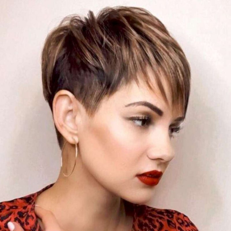 Francine Hall Short Hairstyles - 4