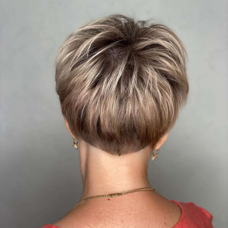 Alexandra Brown Short Hairstyles - 4