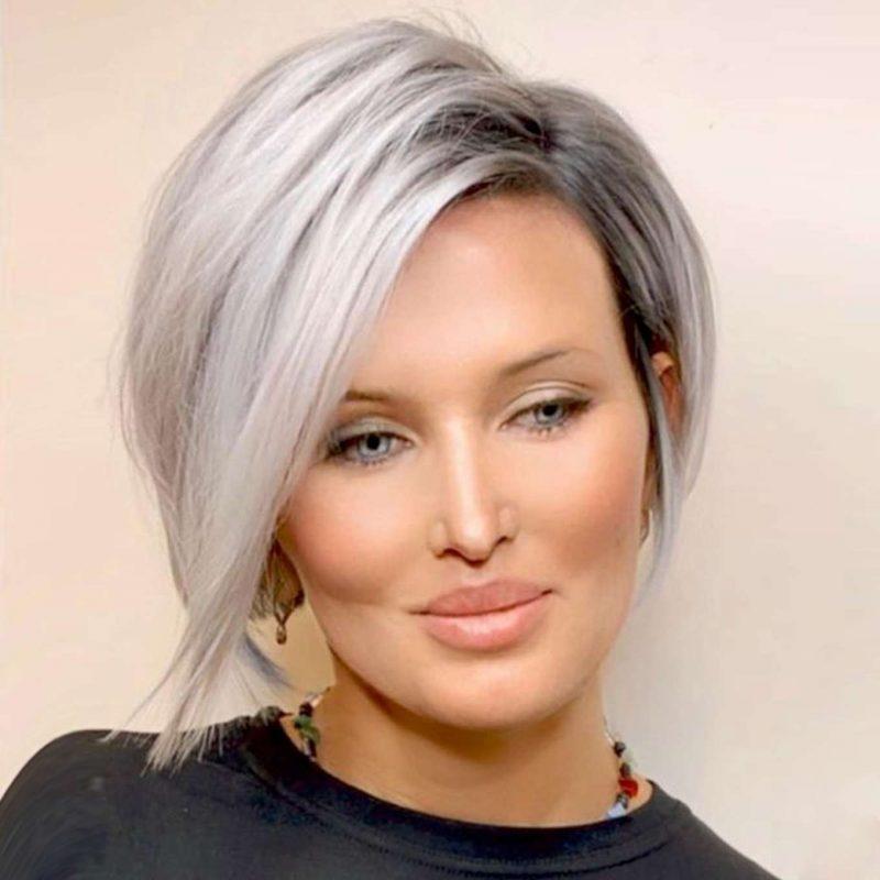 Brigitte Morales Short Hairstyles - 1