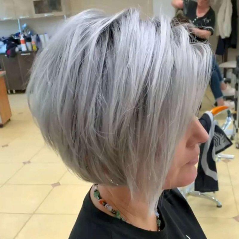 Brigitte Morales Short Hairstyles - 2