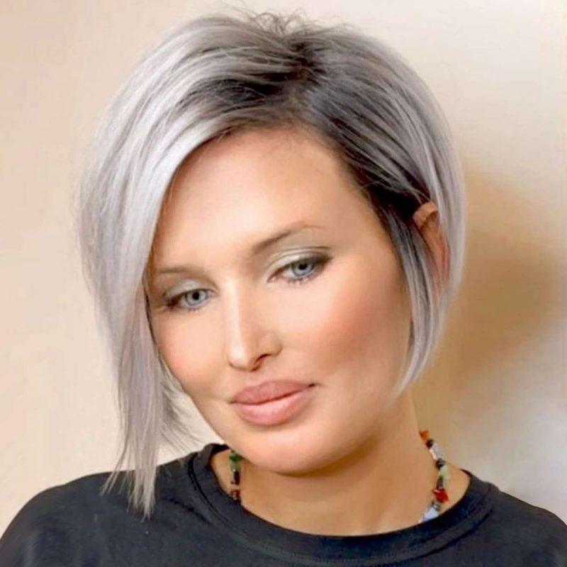 Brigitte Morales Short Hairstyles - 3