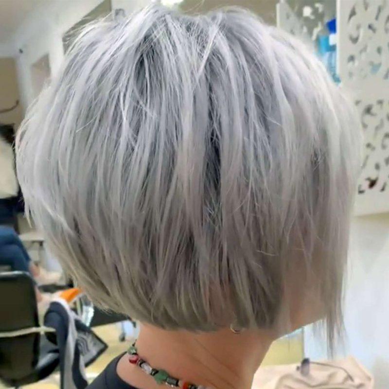 Brigitte Morales Short Hairstyles - 4
