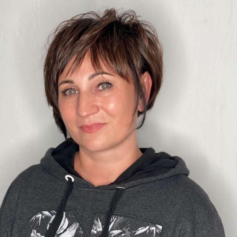 Carmela Green Short Hairstyles - 1