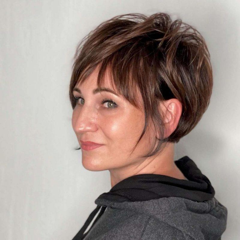 Carmela Green Short Hairstyles - 3