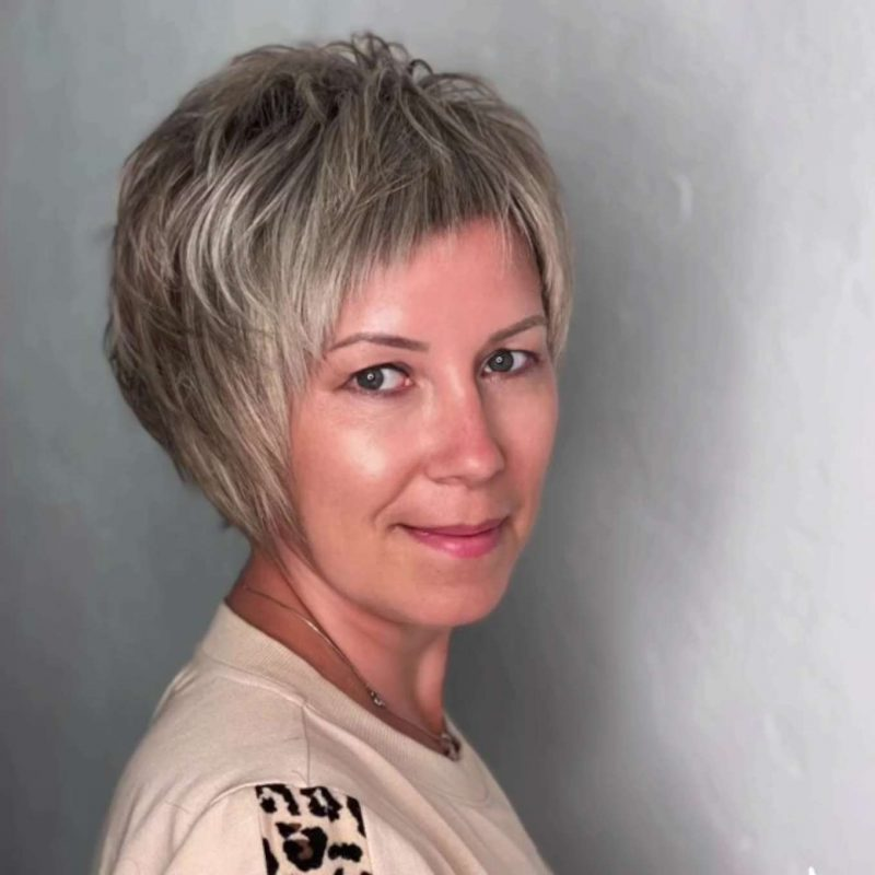 Polly Evans Short Hairstyles - 1
