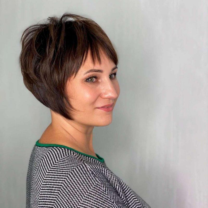 Johnnie Fisher Short Hairstyles - 1